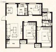 万科城3室2厅2卫100平方米户型图
