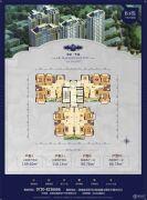 龙骧・华城80--110平方米户型图