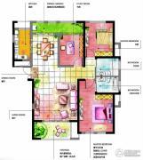 友邦皇家公馆3室2厅2卫0平方米户型图