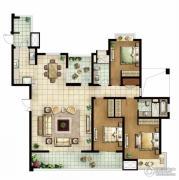 白塘壹号3室2厅2卫195--200平方米户型图