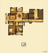 瑞仕豪庭4室2厅2卫141平方米户型图