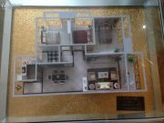 楚荣・首府3室2厅1卫107平方米户型图