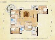 香颂诺丁山4室2厅2卫119平方米户型图