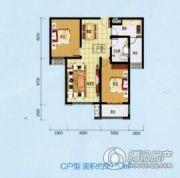 乾盛・慧泽园2室2厅1卫99平方米户型图