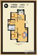 塞浦路斯庄园3室2厅1卫0平方米户型图