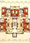 陶然家园3室2厅2卫129--131平方米户型图