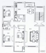 阳光城3室2厅2卫131平方米户型图