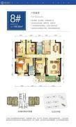 金帝・中洲滨海城4室2厅2卫0平方米户型图