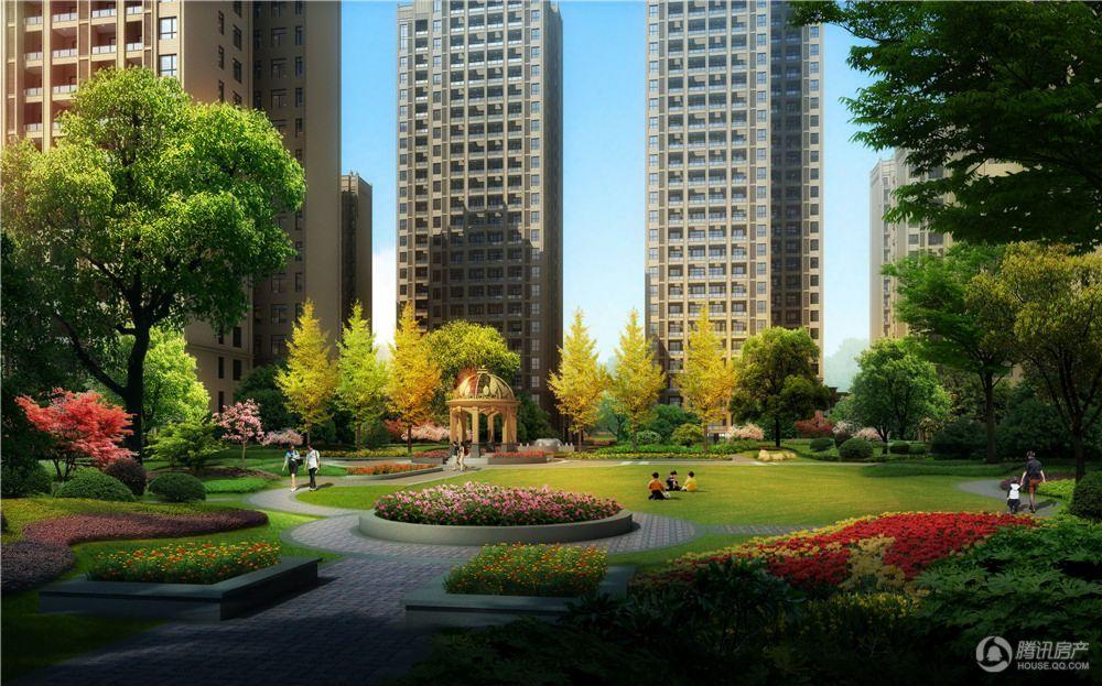 尚林幸福城小区透视图