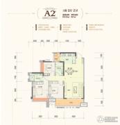 云星・钱隆世家3室2厅2卫105--112平方米户型图