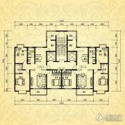 银河湾・3号院2室1厅1卫135平方米户型图