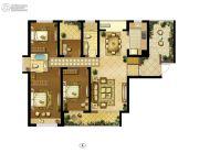 朗诗新郡4室2厅2卫165平方米户型图