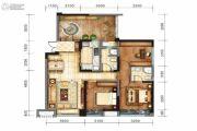 戛纳湾金棕榈3室2厅2卫95平方米户型图