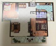 远达锦绣半岛2室2厅1卫117平方米户型图