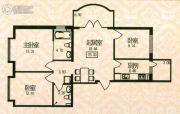 福宏名城3室1厅2卫73平方米户型图