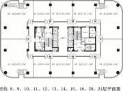融智大厦0平方米户型图