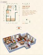 中天锦庭3室3厅3卫99平方米户型图
