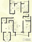 星河御城4室2厅3卫189--195平方米户型图