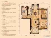 阳光广场2室1厅1卫0平方米户型图