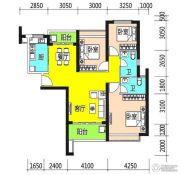 恒大御景半岛3室2厅2卫128平方米户型图