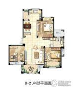 君悦豪庭3室2厅1卫0平方米户型图