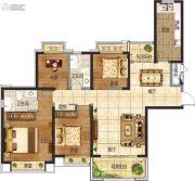 恒大悦珑湾4室2厅2卫139平方米户型图
