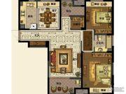 中交・南山美庐2室2厅1卫111平方米户型图