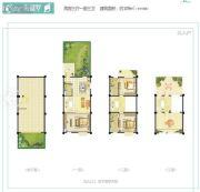 世茂怒放海2室3厅3卫0平方米户型图