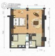 抚仙湖畔樱花谷1室1厅1卫75平方米户型图