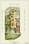 香江别墅II495平方米户型图
