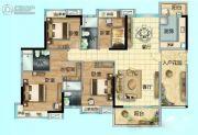 碧桂园・联丰天汇湾4室2厅3卫168平方米户型图