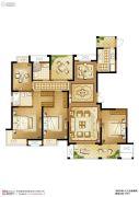 苏高新天之运5室2厅2卫175平方米户型图