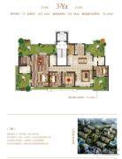 荣邦城4室2厅3卫267平方米户型图