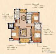 鹏欣瑞都 高层3室2厅2卫138平方米户型图