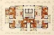 陶然家园4室2厅2卫171--188平方米户型图