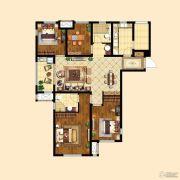 中粮祥云4室2厅2卫119平方米户型图