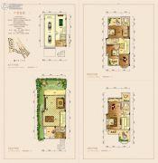 聚贤山庄.公园别墅5室5厅5卫369平方米户型图
