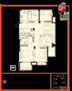 余之城4室2厅2卫136平方米户型图