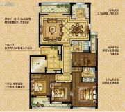 大发・凯旋门4室2厅2卫0平方米户型图