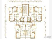 华鼎・中央都会2室2厅1卫93平方米户型图