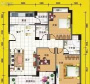 八桂凤凰城3室2厅2卫119平方米户型图