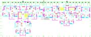 鹏瑞公馆3室1厅1卫0平方米户型图