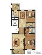润达国际2室2厅2卫0平方米户型图