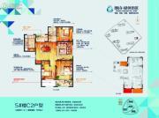 朗诗绿色街区3室2厅1卫119平方米户型图