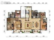 绿地・海珀天沅4室2厅3卫320平方米户型图