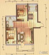 卓扬中华城2室2厅1卫92平方米户型图