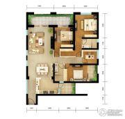 俊发・滨海俊园4室2厅2卫177平方米户型图