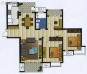 新加坡尚锦城3室2厅1卫111平方米户型图