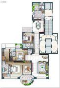 云顶至尊5室2厅5卫314平方米户型图