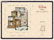 中德英伦联邦3室2厅2卫106平方米户型图